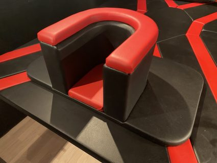 Rimming / queening stoel