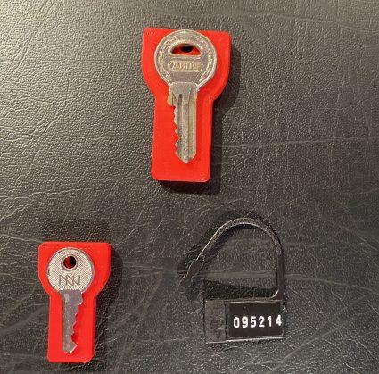 chastity key holder